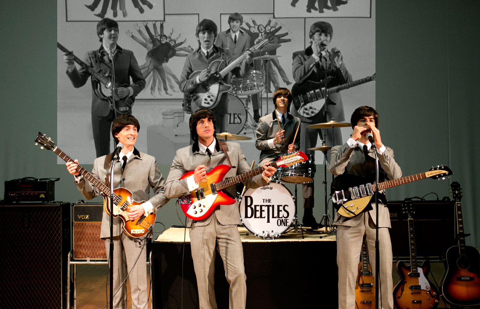 The Beatles Cover - The Beetles One - Primeira Fase